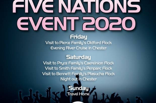 2020 FIVE NATIONS EVENT DETAILS ANNOUNCED CLUB SPONSORSHIP AVAILABLE!